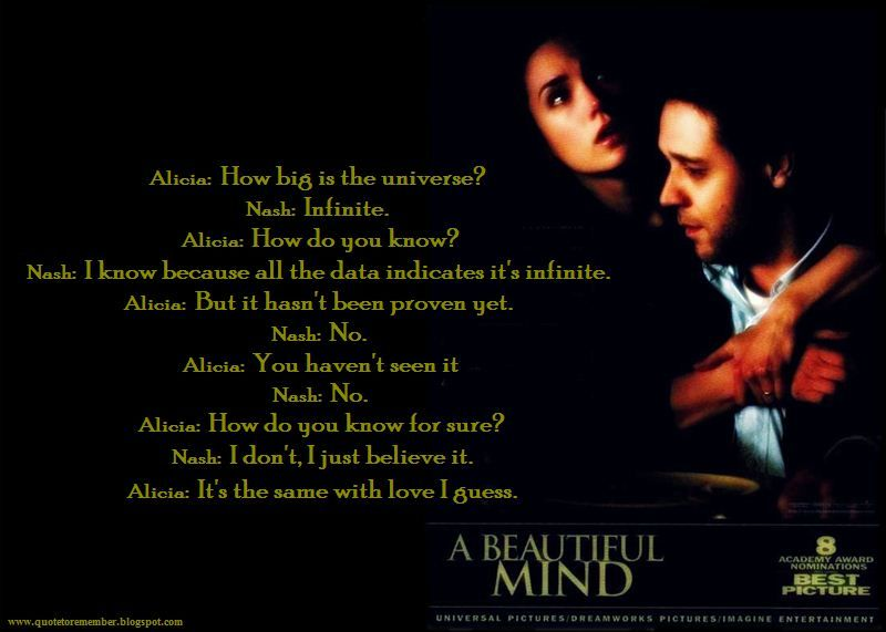 A Beautiful Mind My All Time Favorite Film Ever Film