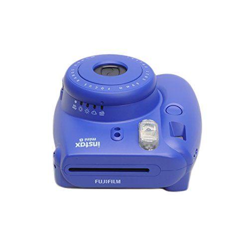 Fujifilm Instax Mini 8 Instant Film Camera (Indigo)  http://www.lookatcamera.com/fujifilm-instax-mini-8-instant-film-camera-indigo/