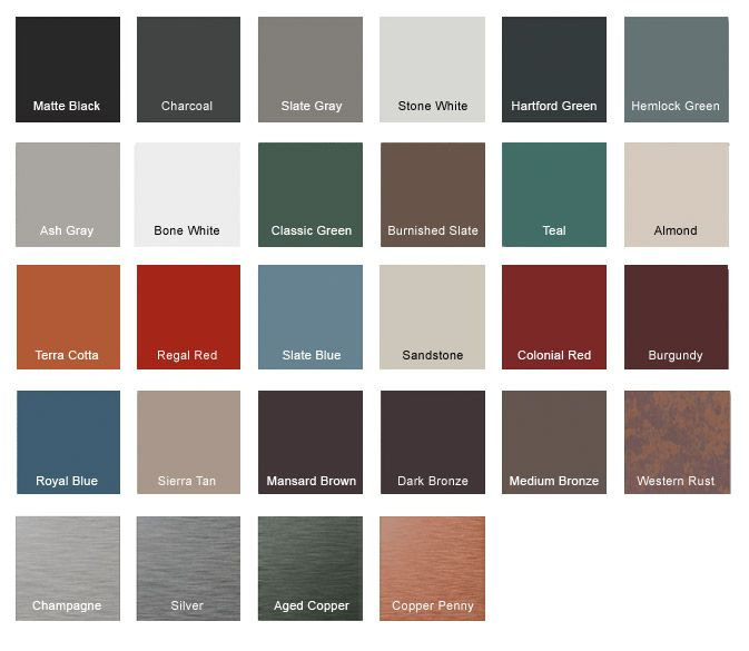 Best Metal Roof Color Options Charcoal Metal Roof Colors 400 x 300