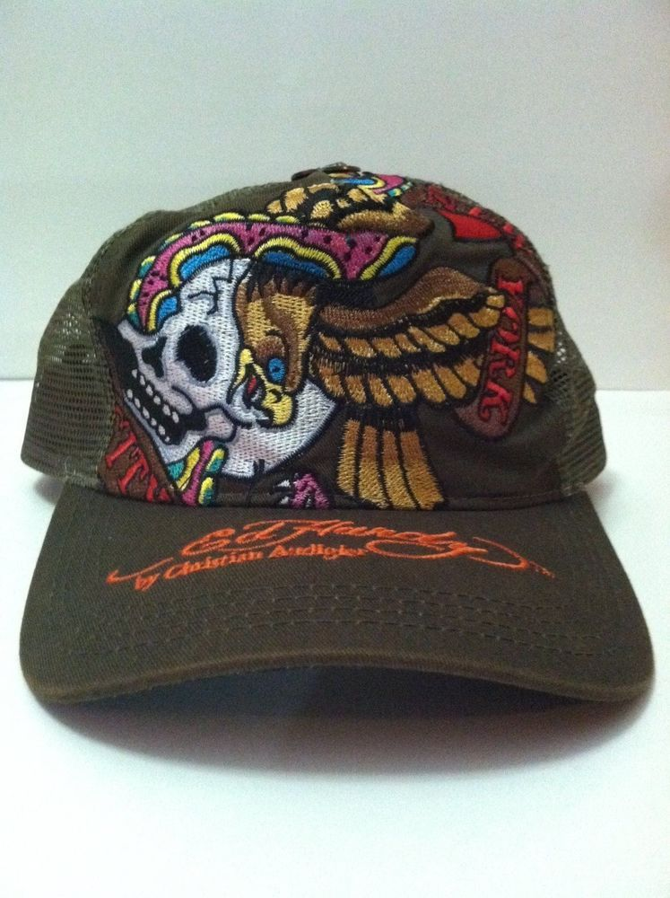 Ed Hardy by Christian Audigier snapback Trucker Hat  ChristianAudigier   Trucker dc5a80c176f