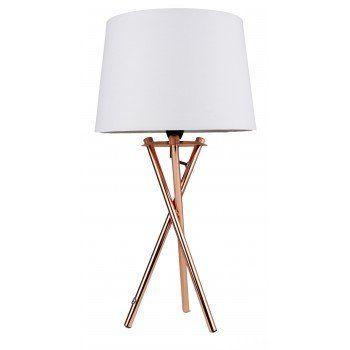 Boardmans copper copper lamp set