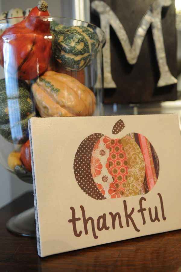 DIY Decorating For Thanksgiving