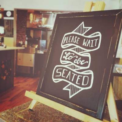 events — colour and dust // please wait to be seated // chalk art ...