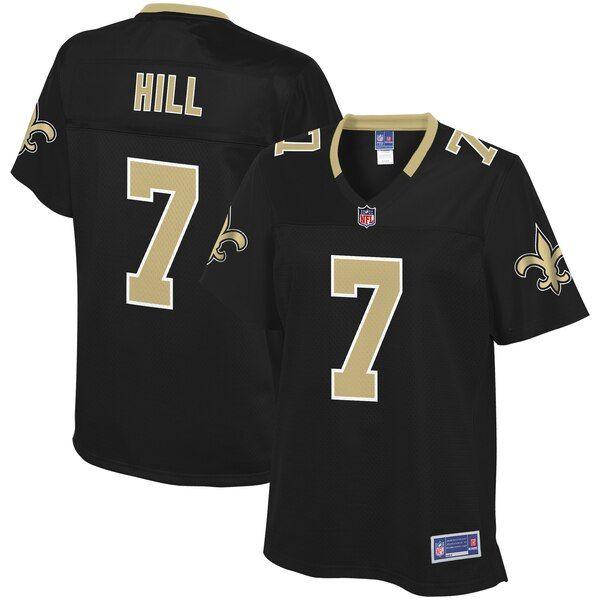 Taysom Hill New Orleans Saints Nfl Pro Line Women S Team Color Player Jersey Black Neworle New Orleans Saints Jersey New Orleans Saints Nfl Jerseys For Sale