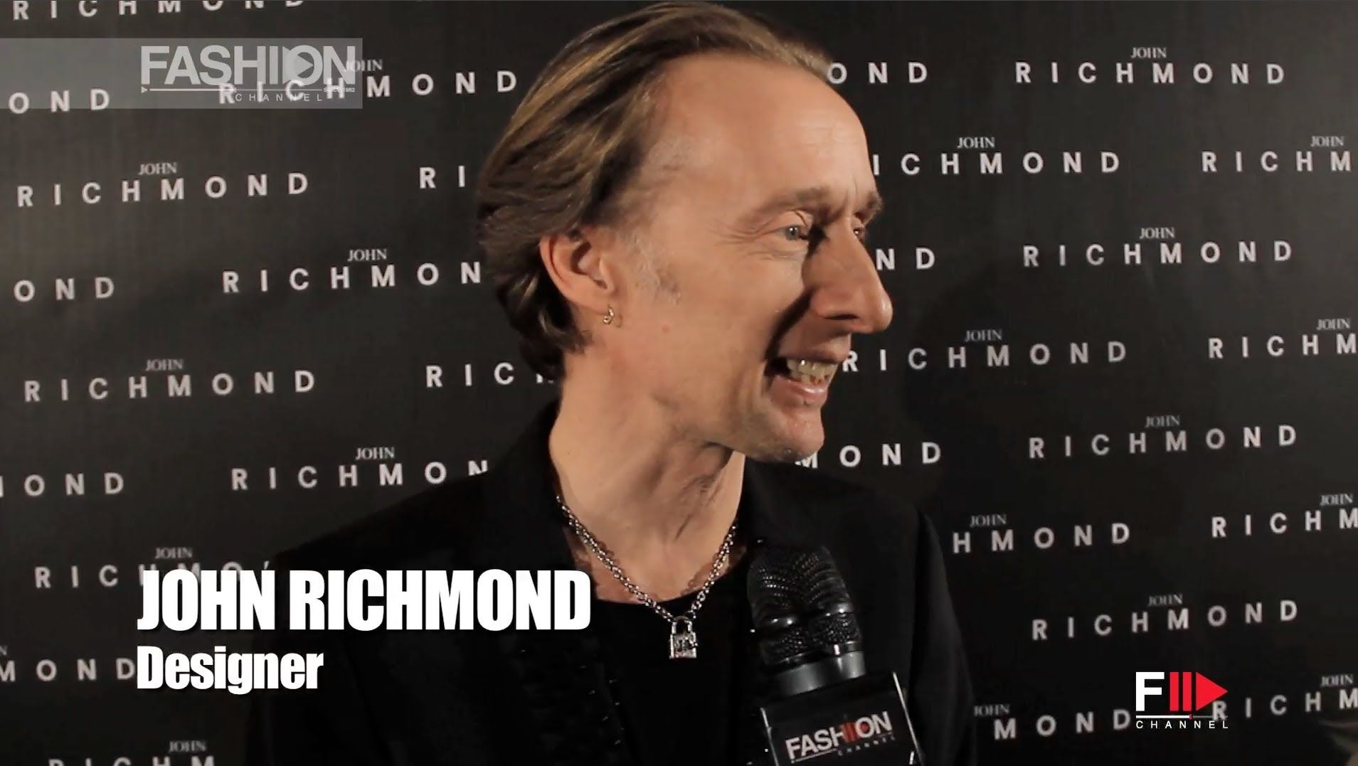 """JOHN RICHMOND"" Backstage and Interview Autumn Winter 2014 2015 Men Mila..."