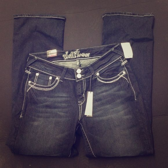 WallFlower Jeans Brand new w/ tags! WallFlower Jeans Boot Cut