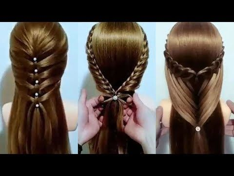 Home Youtube Easy And Beautiful Hairstyles Hair Tutorial Hair Transformation
