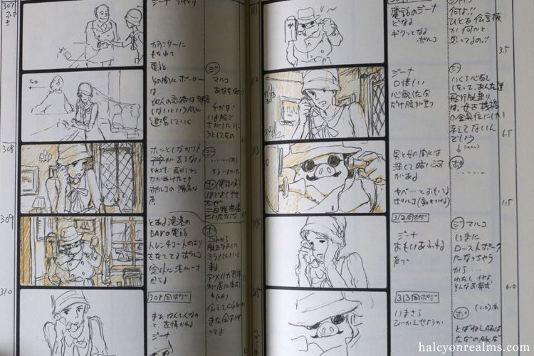 Porco Rosso Ghibli Storyboard Art Book Review  Storyboard