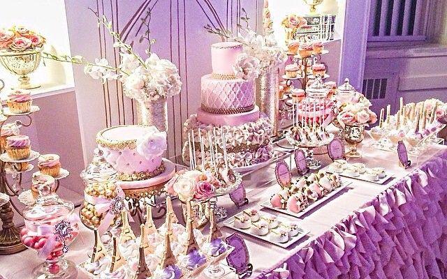 Bridal Shower Dessert Table Ideas previous Sweet Table Ideas Ombre Pink Dessert Table Bridalwedding Shower Party Ideas Cake Table Bridal Shower