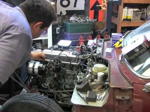 Video How To Tune Up Your British Car British Cars Triumph Motor Repair Videos