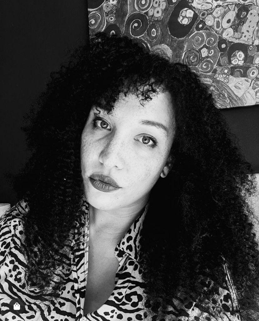 Jasmin wearing #heycoils in 20's. #naturalhairextensions #3chair #4ahair #kinkycurlyhair #curlyhair #naturalhair #naturalhairinspo #naturalhairstyles