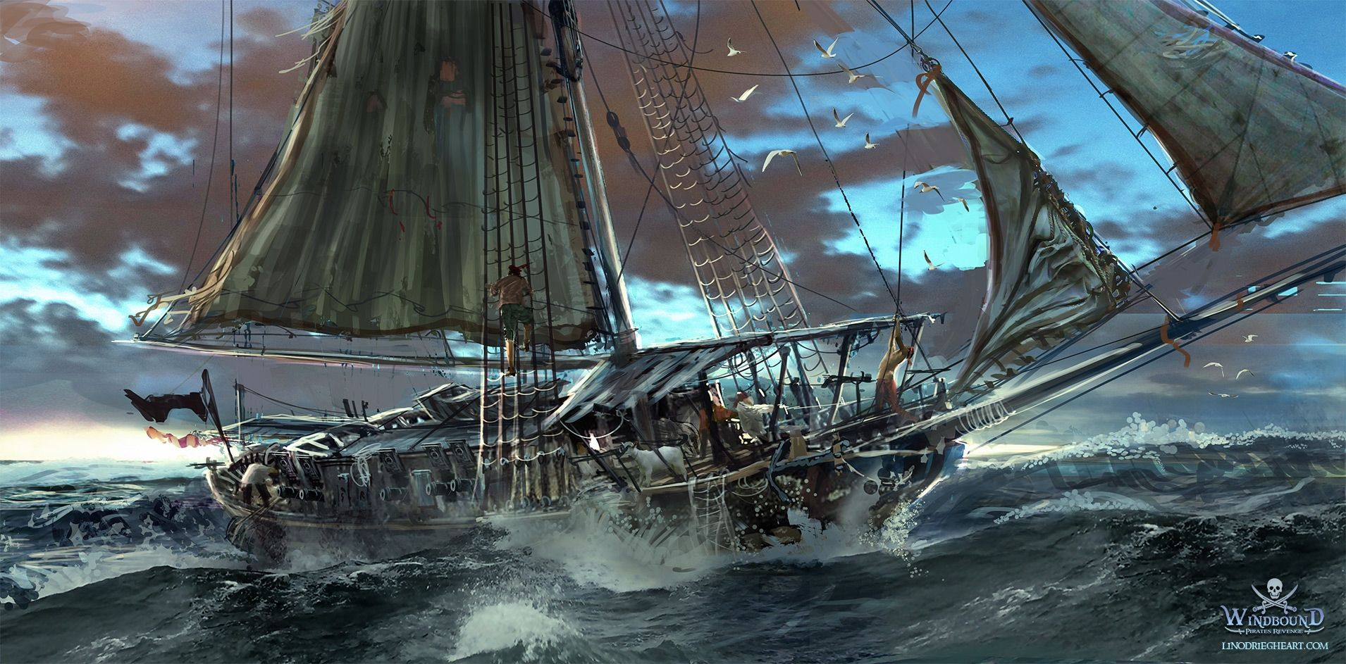 Sail The Sea With The No Download Pirate Ship Slot