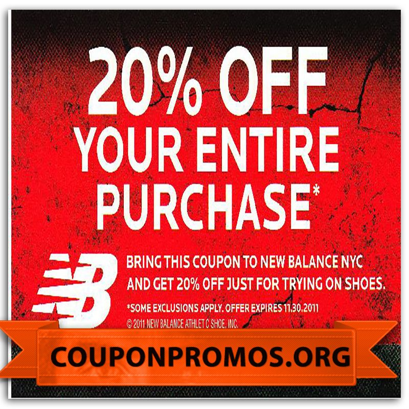 Free New Balance Printable Coupon November 2014
