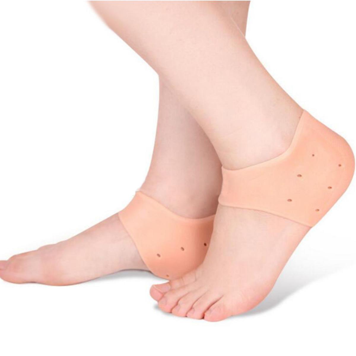 Silicone Pad Heel Cover Moisture Resistant Set Heel Care Set Anti Cracking Heel Protectors Camping From Sports Outdoor On Banggood Com Hayatta Kalma Araclari Stil El Yikama