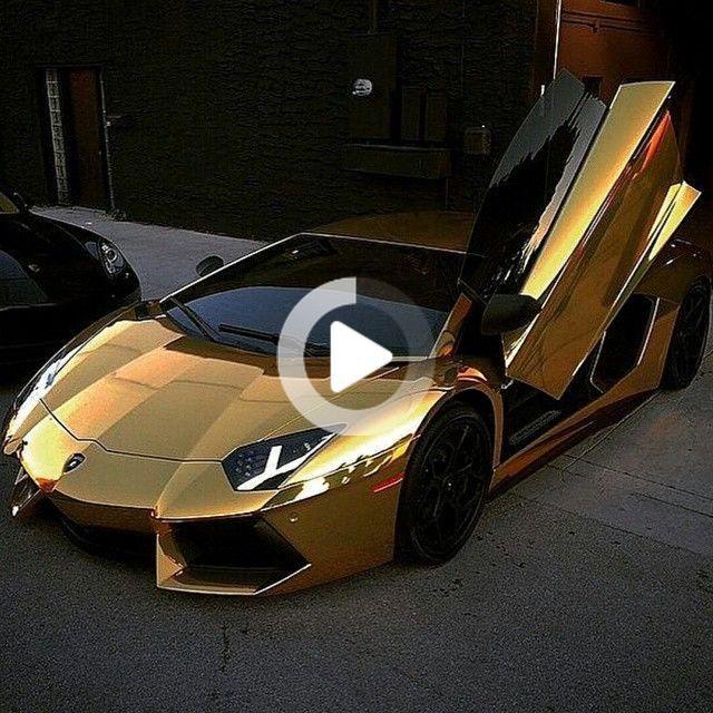 """Eric C on Instagram: """"#luxuryattire #luxurycars #luxurylife #itemsofluxury #cars #lamborghini #gold #goldlambo #goldcars #luxuryboutique"""" #cars #amazingcars"""