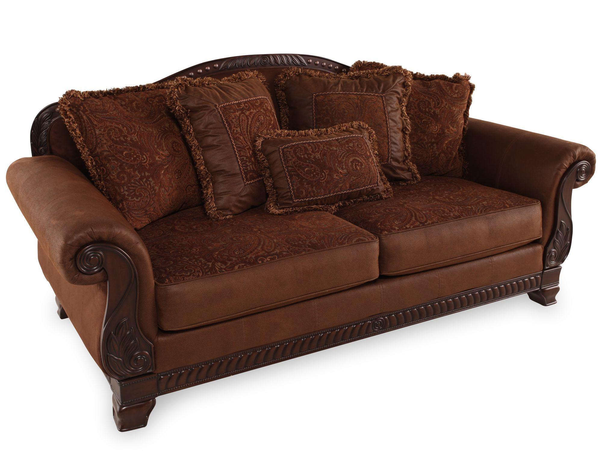 Bradington Truffle Sofa Ashley Furniture Bradington