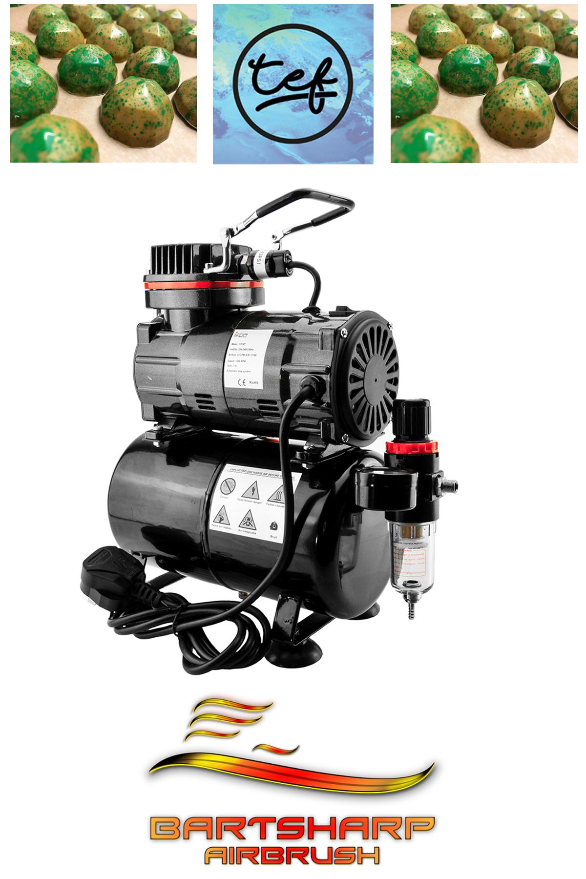 Compressor TC80T Compressor, Airbrush, Water traps