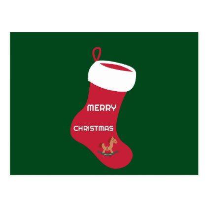 Festive Holiday Postcard - Xmascards ChristmasEve Christmas Eve Christmas merry xmas family holy kids gifts holidays Santa cards