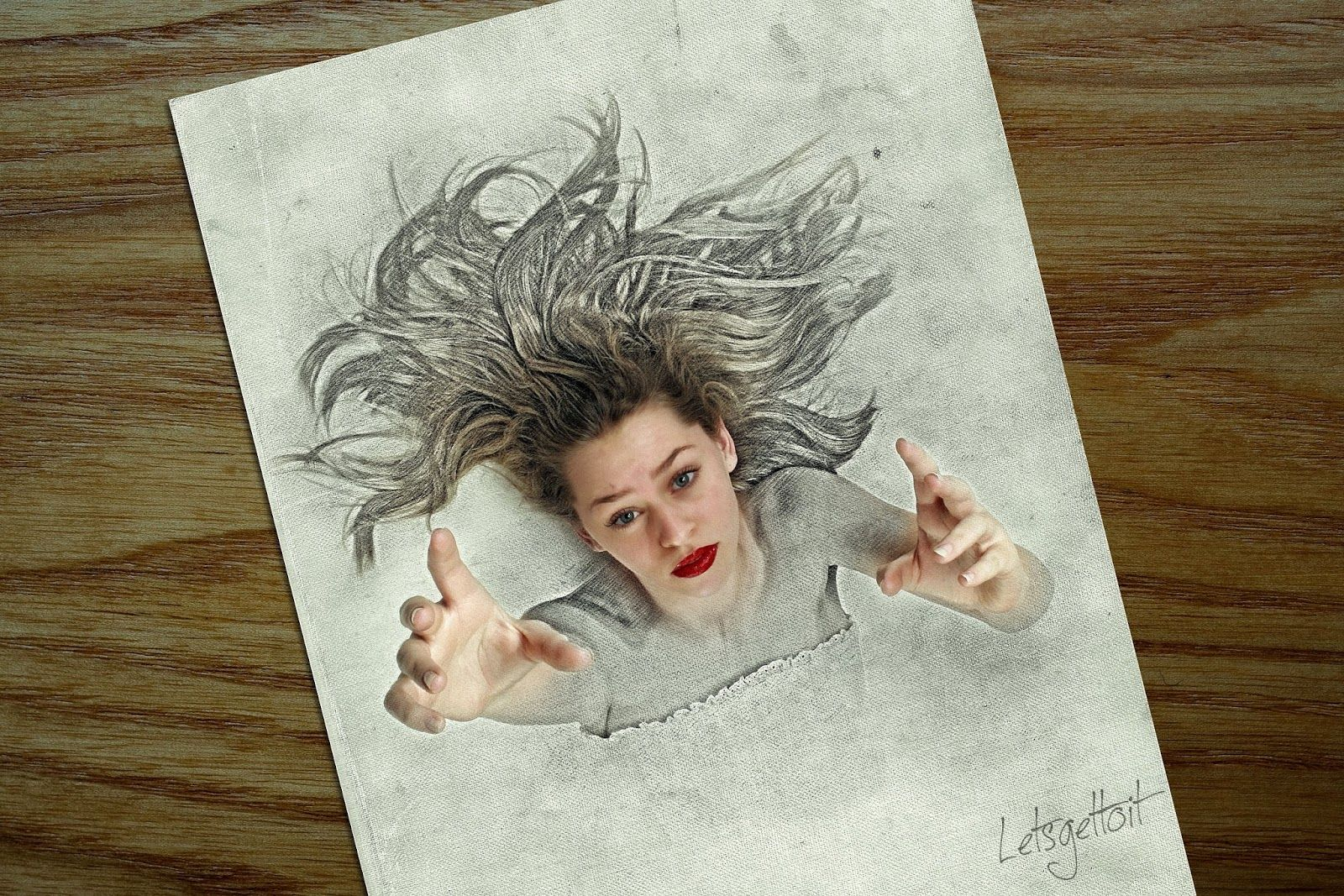 3d sketch drawing effect photoshop tutorial photo effect 3d sketch drawing effect photoshop tutorial baditri Image collections