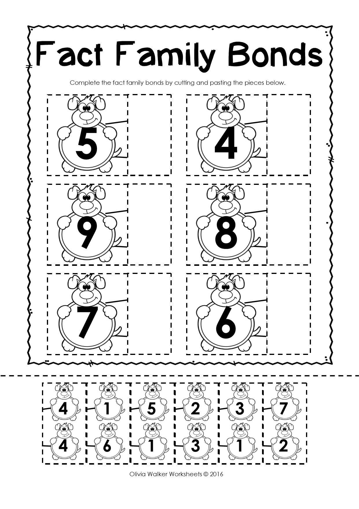 Kindergarten Free Printable Cut And Paste Educational Worksheets ...