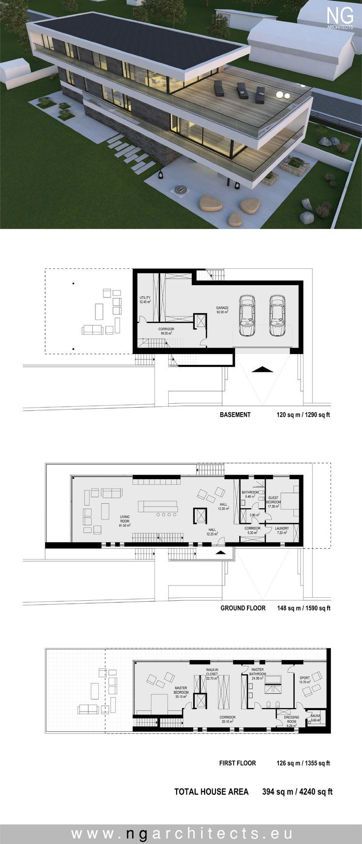 Plans Maison En Photos 2018 Image Description Modern Villa