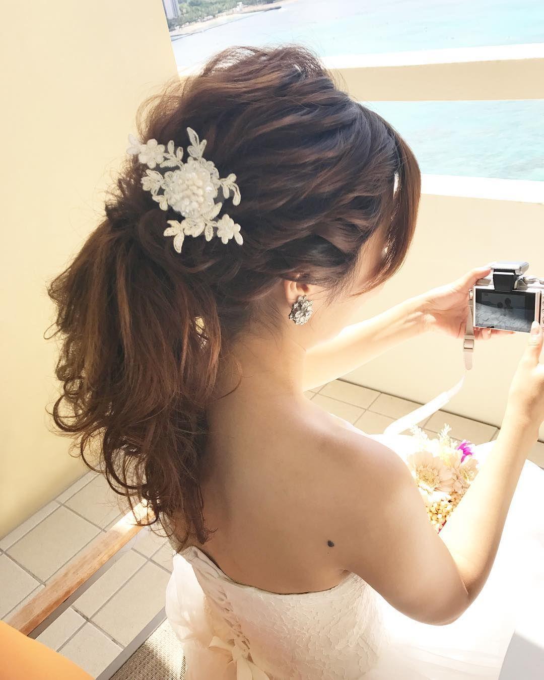 Wedding Hair Styles ウェディングヘア ウェディング ヘアスタイル