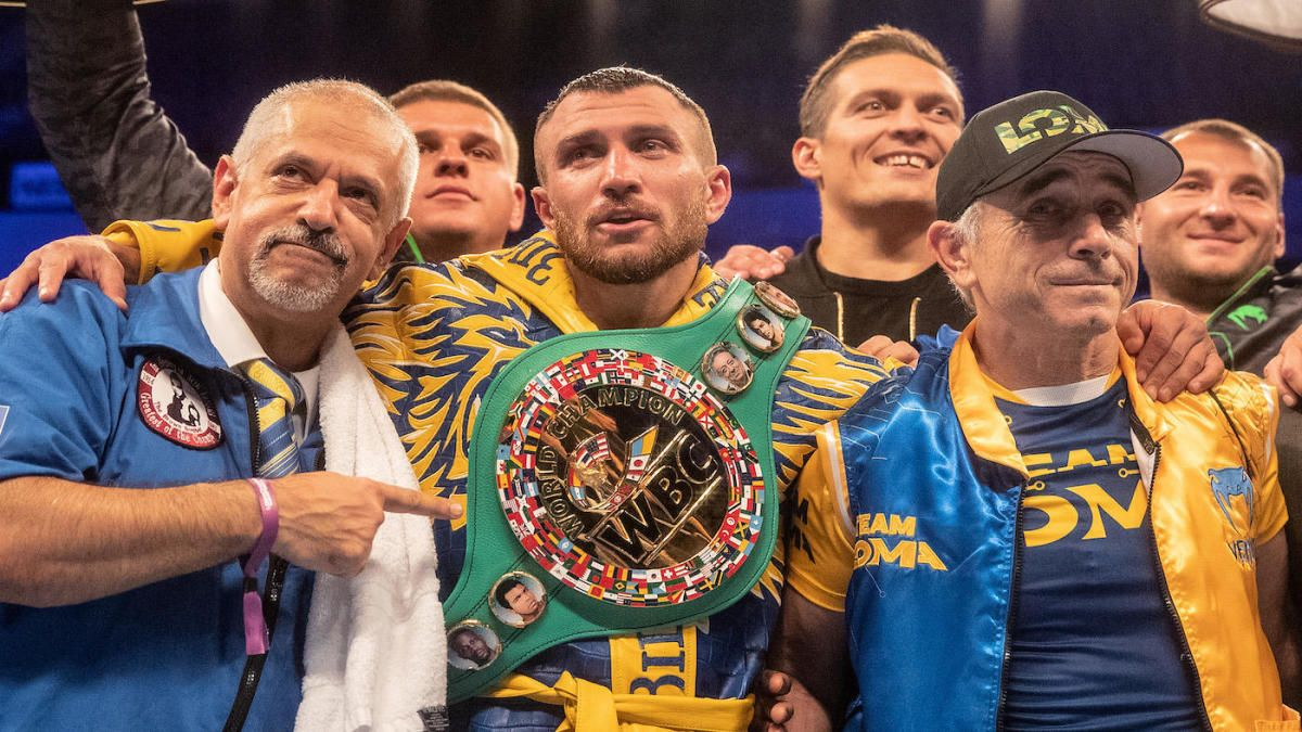 Boxing Pound for Pound Rankings Vasiliy Lomachenko holds