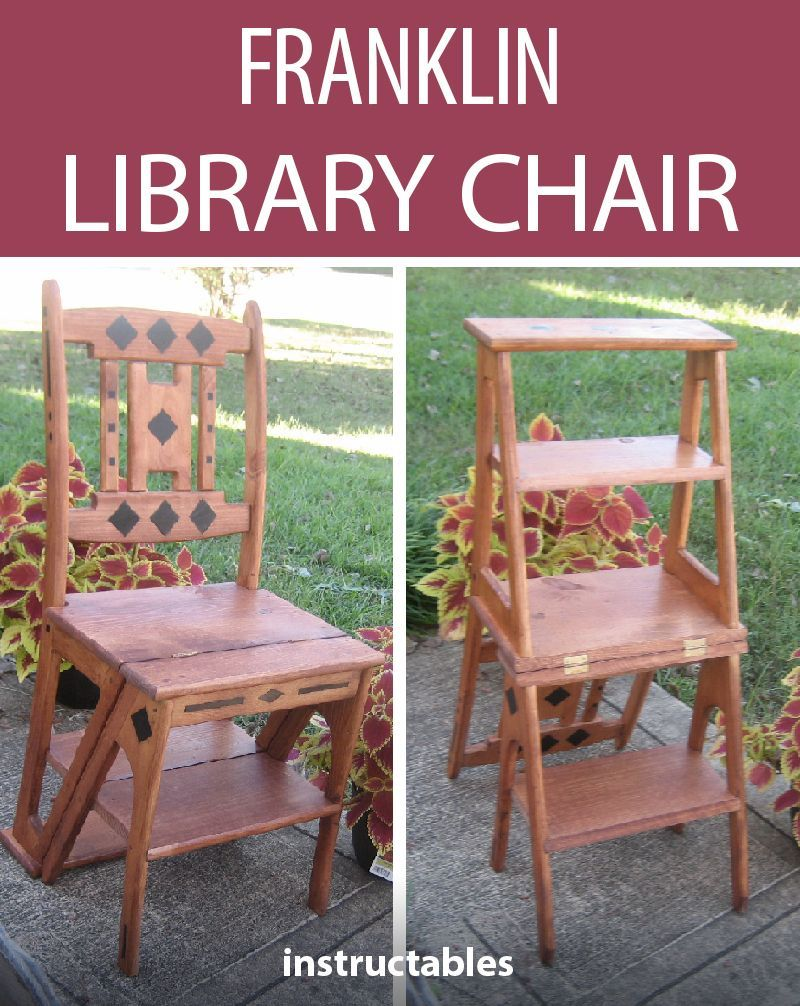 Franklin Library Chair Library Chair Woodworking