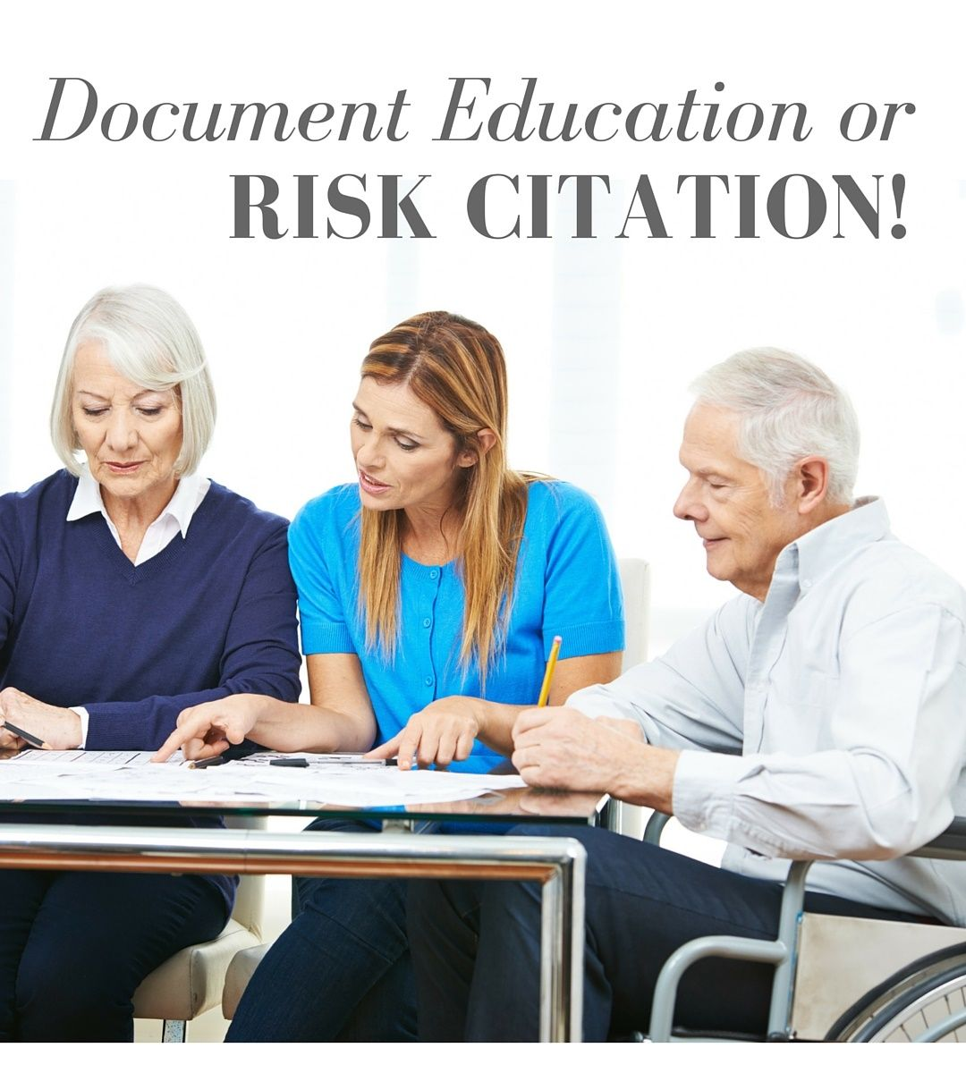 News Flash Document Education Or Risk Facing Pressure Ulcer Citations Failing To Provide And