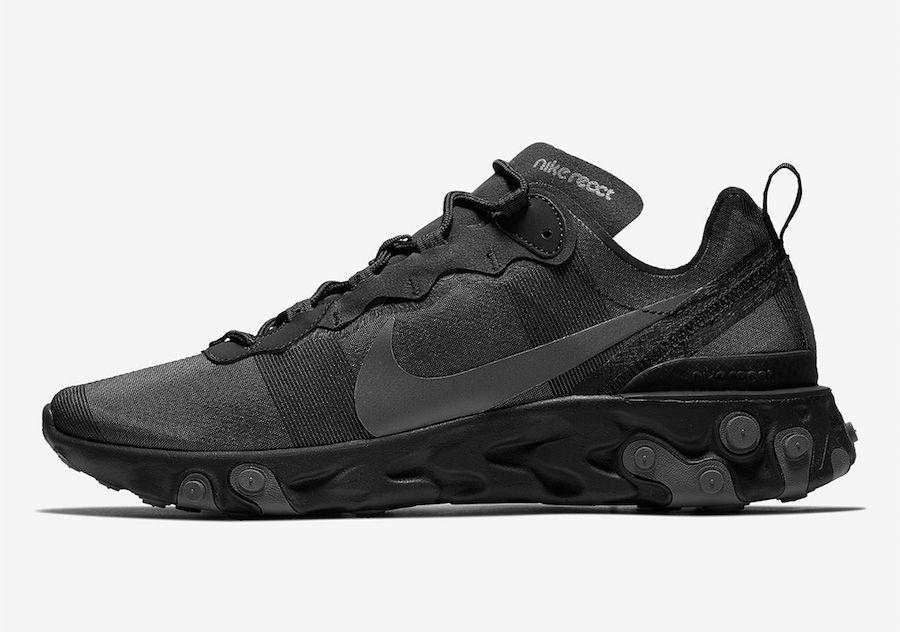 litro radical reptiles  Nike React Element 55 Triple Black BQ6166-008 Release Date | Running shoes  sneakers, Running shoes nike, Sneakers