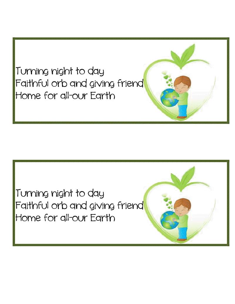Earth Day Freebie Haiku Haiku Literacy Blog Focus [ 1035 x 800 Pixel ]