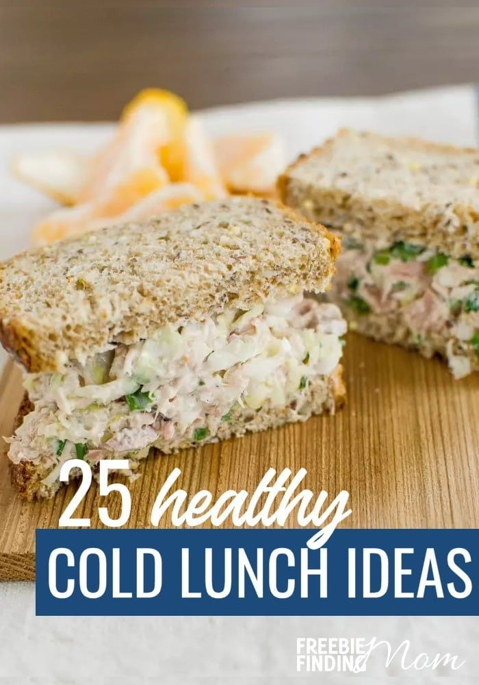 25 Delicious and Healthy Cold Lunch Ideas images