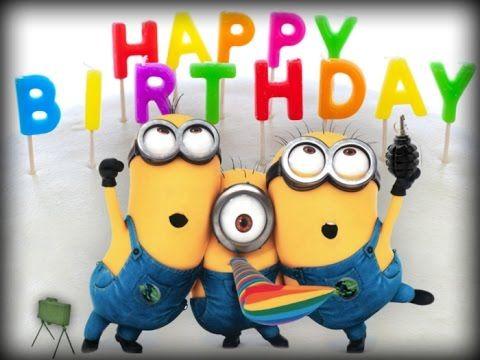 Happy Birthday Minions Feliz Cumplea 241 Os Minions Minion Happy Birthday Wishes