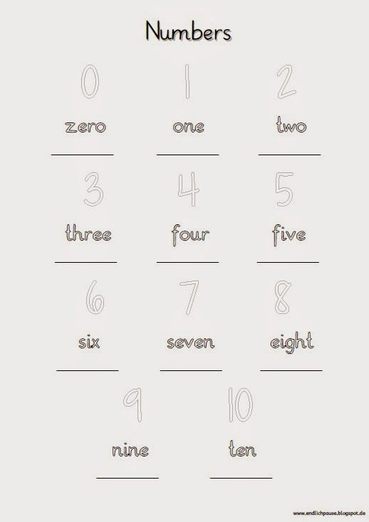 Endlich Pause 2 0 Nochmal Zwei Colours And Numbers Pinterest