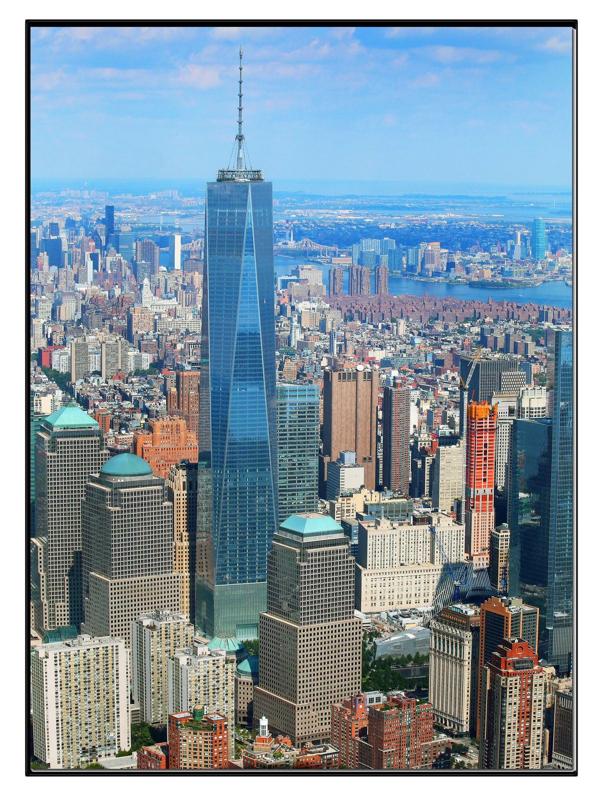 New York One World Trade Center 1 776 Pinnacle 1 373 Roof  # Expo Muebles Wtc D'Europe