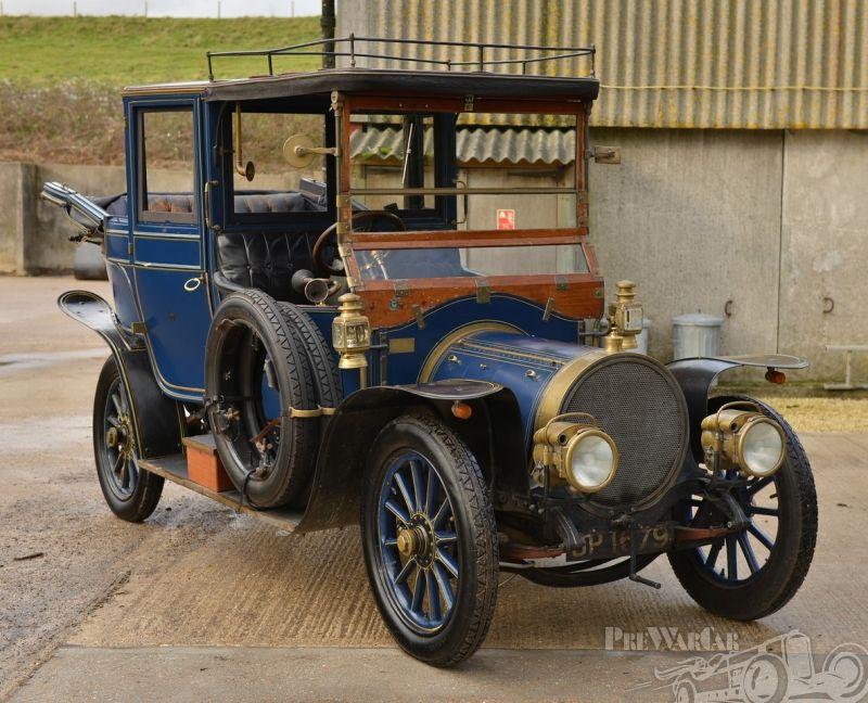 Delaunay-Belleville HB6 Burlington Carriage Co. 1911 for sale ...