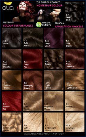 garnier olia hårfarve