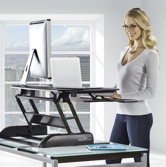 Convert your existing desk to a standing desk with varidesk desks office designs and house - Works to office converter ...