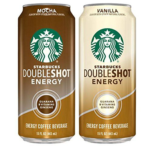 Starbucks Doubleshot Energy Coffee Can Variety Pack 15
