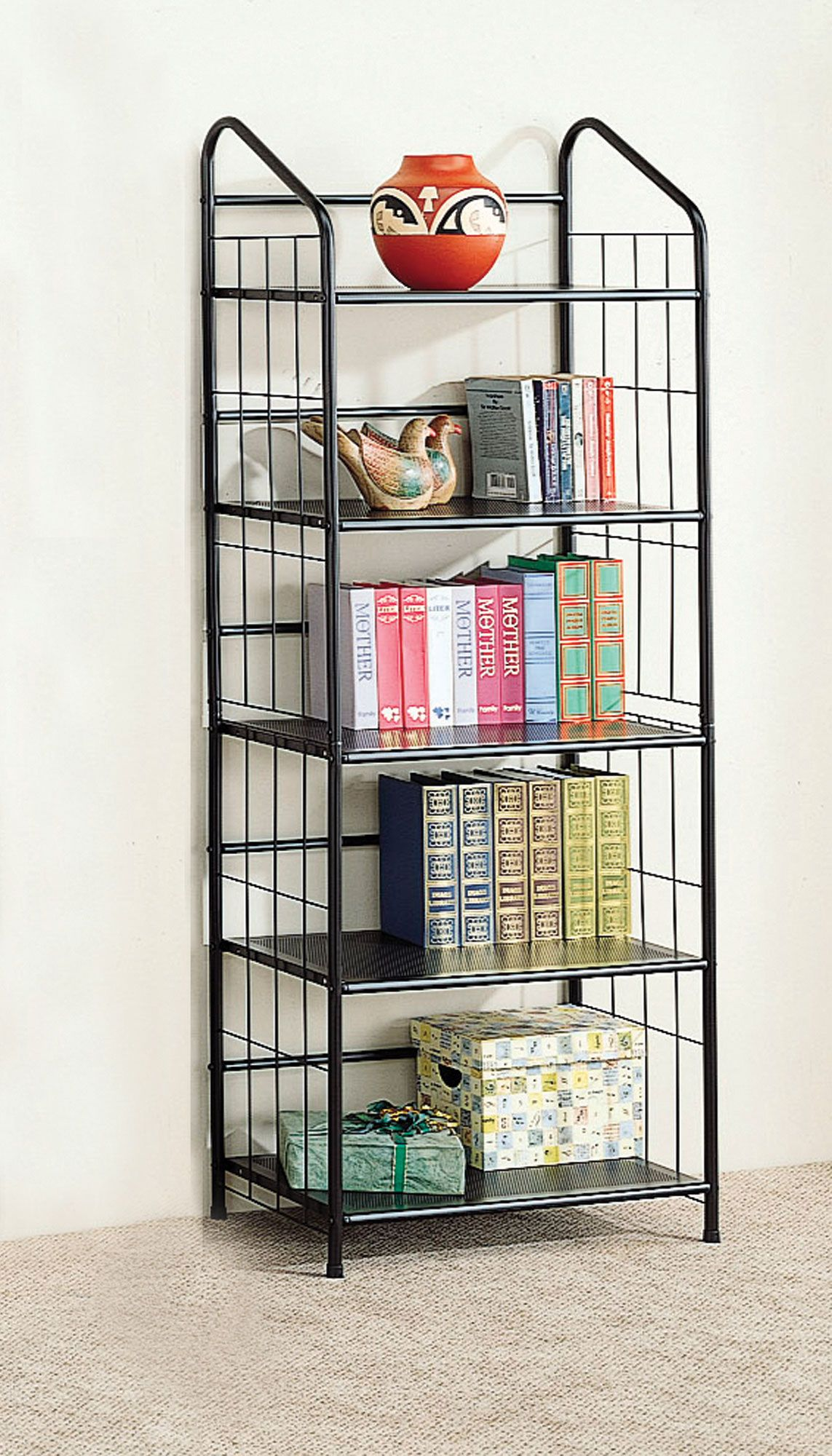 artfully traditional stacked black small corner tips bookshelf furniture on shelves full of bookcase advice bookshelves bookcases size designer arranging office