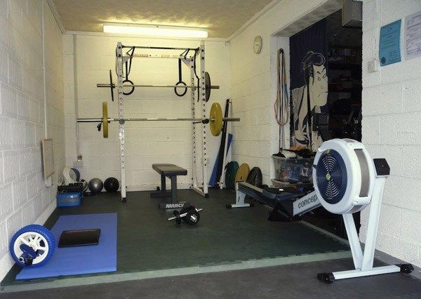 Inspirational garage gyms & ideas gallery pg 8 our apartment at