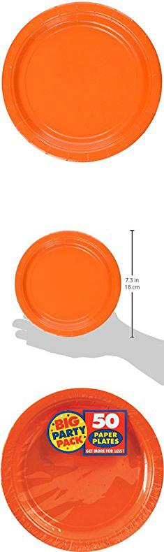 Amscan Paper Plates. Amscan Big Party Pack 50 Count Paper Dessert Plates 7- & Amscan Paper Plates. Amscan Big Party Pack 50 Count Paper Dessert ...