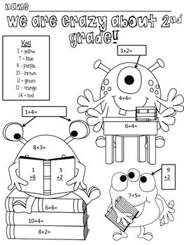 Free Printable Back To School Worksheets For Second Grade