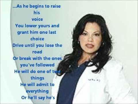 how to save a life grey\'s anatomy version with lyrics.wmv | Music ...