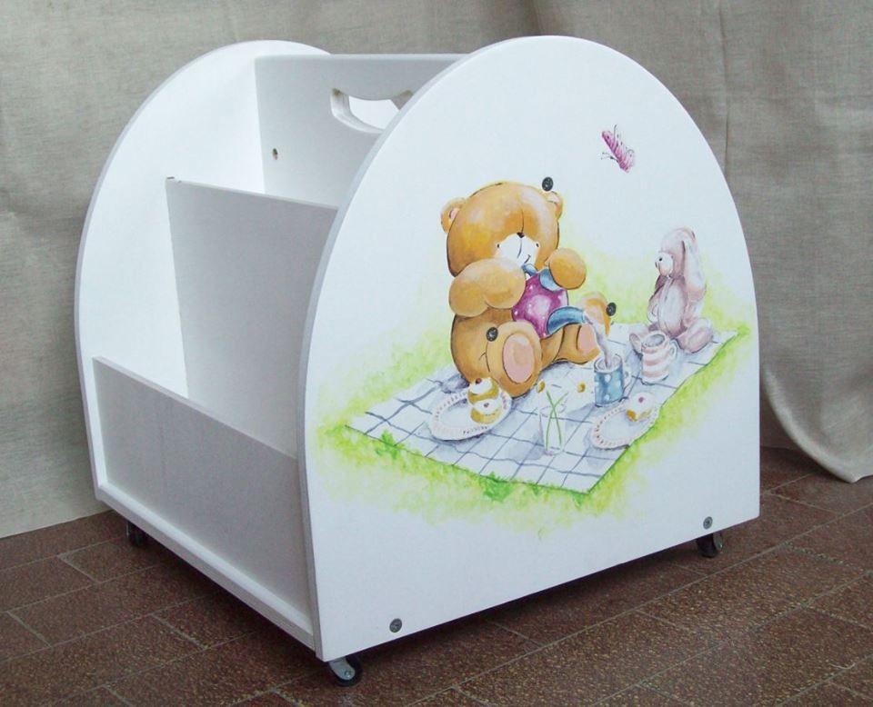 Arredamento Montessori ~ Libreria in legno per bambini in stile montessori montessori