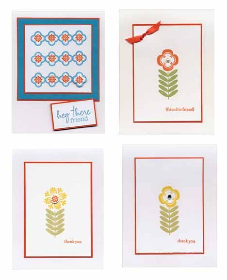 Cards made from Stampin Up stamp set Madison Avenue