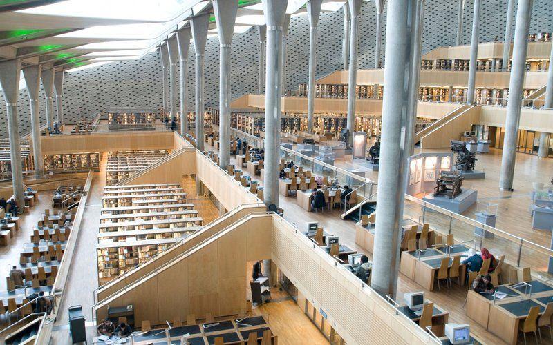 Image result for Bibliotheca Alexandrina, Alexandria, Egypt
