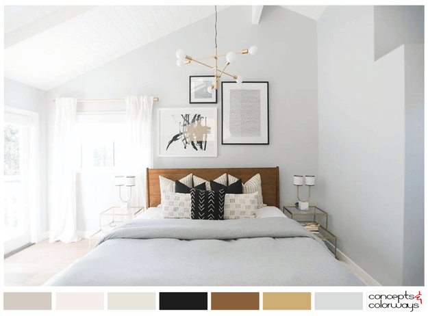 Restfully Chic Concepts And Colorways Grey Bedroom Colors