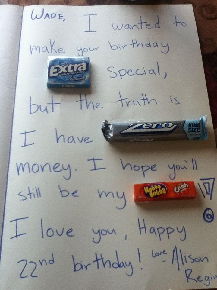 Boyfriend Birthday Boyfriend Birthday Birthday Humor Boyfriend Gifts