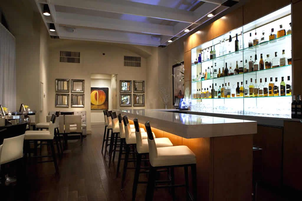 M Lounge Bar Hospitality Interior Design of Matthews Restaurant,  Jacksonville
